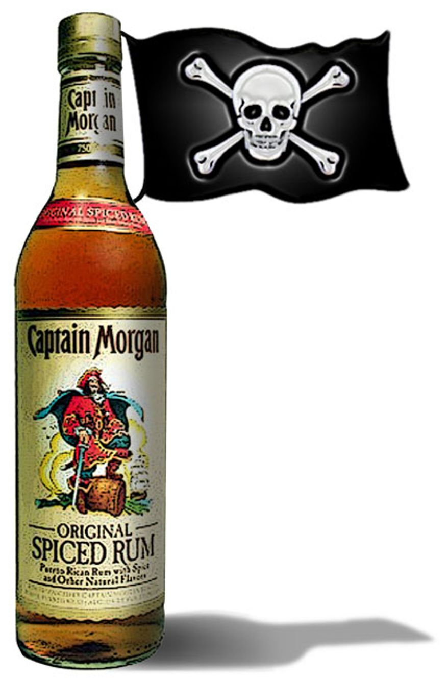 Illustration: Rum pirates by Greg Groesch for The Washington Times