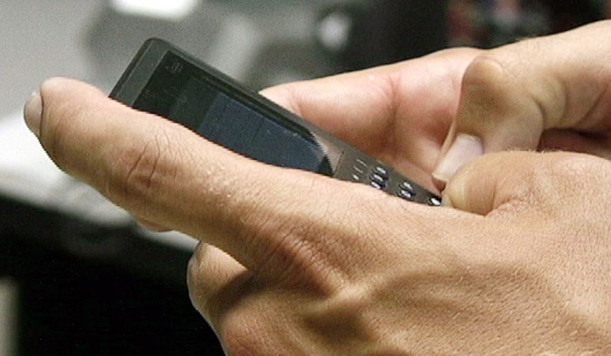 """"""" 'BlackBerry thumb' is the modern malady and side effect that has come about from our text-happy society,"""" writes Dr. Nina Radcliff. (Associated Press)"""