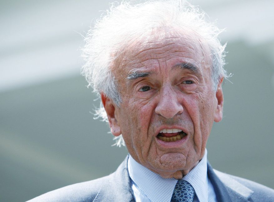 Nobel Peace Prize laureate Elie Wiesel (Associated Press)