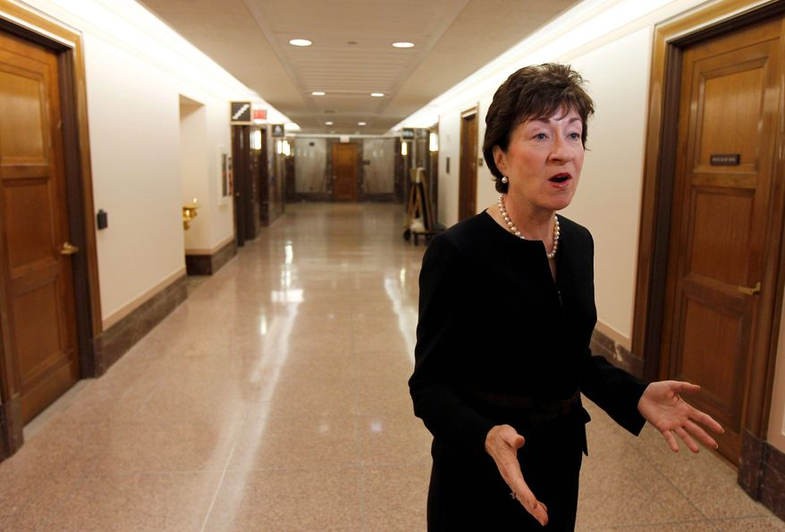 **FILE** Sen. Susan Collins