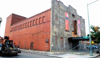 The new Howard Theatre, now a neglected shell of its former glory, is slated to reopen in November 2011 as part of continuing revitalization efforts to the U Street corridor - one of Washington's liveliest entertainment sections. (The Washington Times)