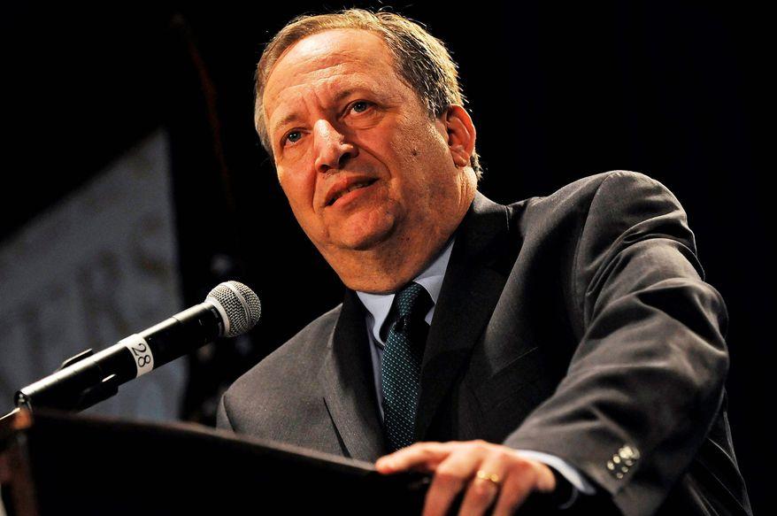 **FILE** Top Obama economic adviser Larry Summers (The Washington Times)