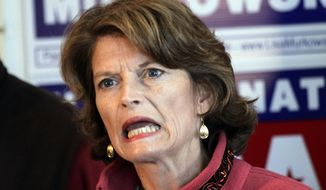 Sen. Lisa Murkowski, Alaska Republican (AP Photo/Rob Stapleton)
