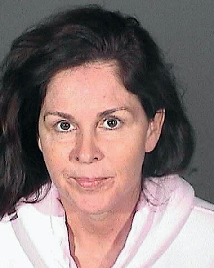 This image provided by the Los Angeles County Sheriff's Department shows city of Bell official, Pier'Angela Spaccia who was arrested Tuesday Sept. 21, 2010 along with seven others  over allegations of corruption, misuse of public funds and voter fraud. (AP Photo/Los Angeles County Sheriff)