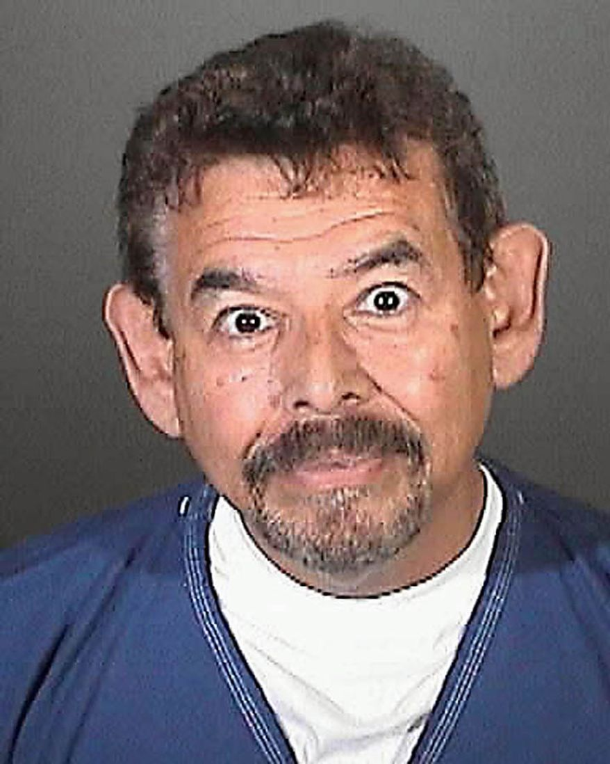 This image provided by the Los Angeles County Sheriff's Department shows city of Bell official, George Mirabal who was arrested Tuesday Sept. 21, 2010 along with seven others  over allegations of corruption, misuse of public funds and voter fraud.(AP Photo/Los Angeles County Sheriff)