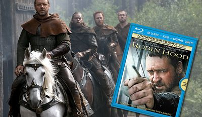 Robin Hood: Unrated Director's Cut from Universal Studios Home Entertainment arrives on Blu-ray.