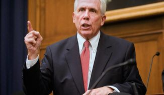 ** FILE ** Rep. Frank R. Wolf, Virginia Republican. (Associated Press)
