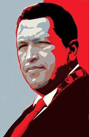 Illustration: Hugo Chavez