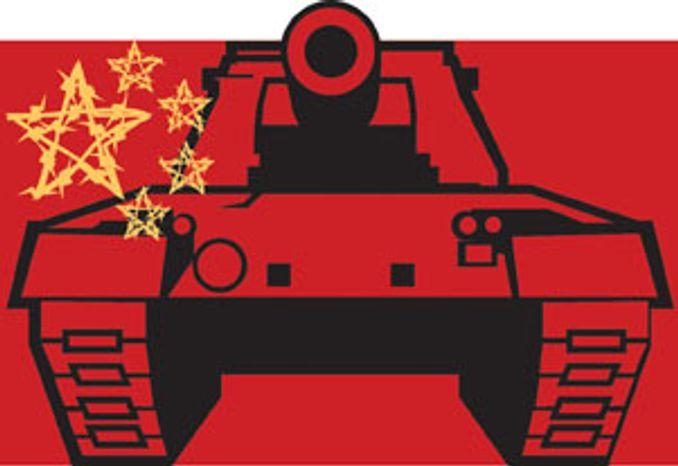 Illustration: China by Linas Garsys for The Washington Times
