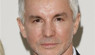 "FILE - In this Sept. 7, 2010 file photo, Baz Luhrmann attends ""Fashion's Night Out : The Show"" at Lincoln Center in New York. (AP Photo/Peter Kramer, file)"