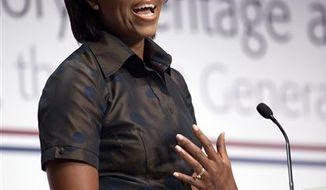 **FILE** Michelle Obama (Associated Press)