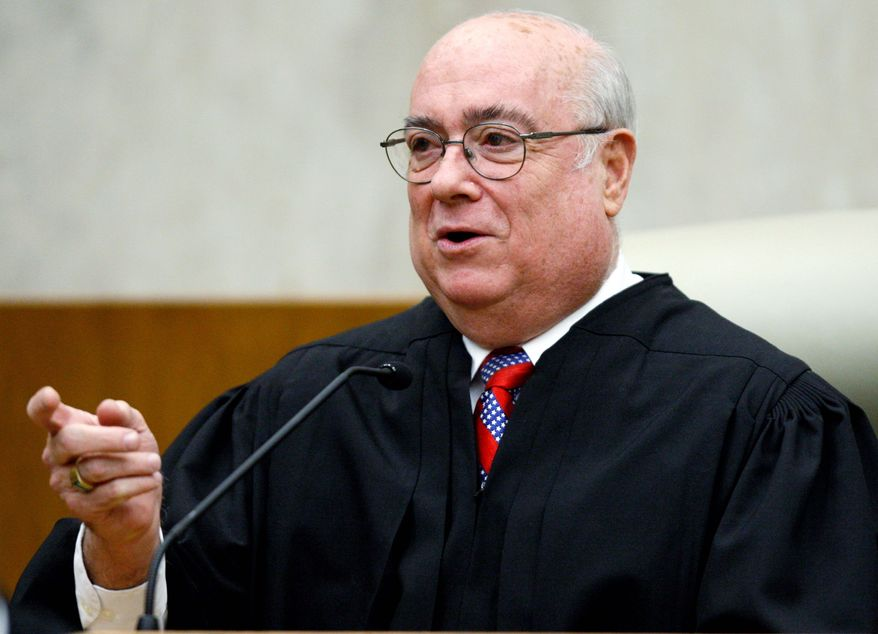 ASSOCIATED PRESS U.S. District Chief Judge Royce C. Lamberth last month temporarily halted federal funding for stem cell research on grounds that the Obama administration's rules likely violate the law.