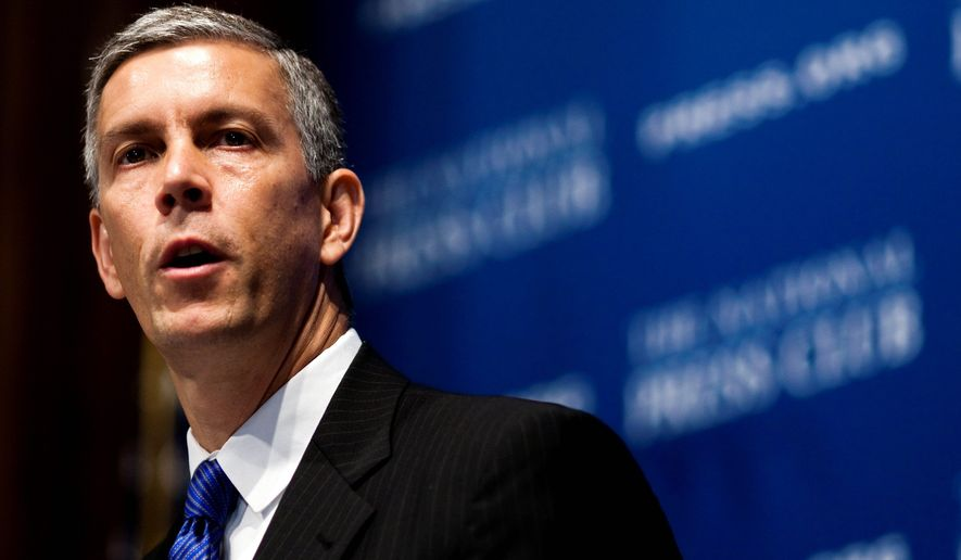 Education Secretary Arne Duncan has spoken positively of the D.C. schools chancellor's reforms. (Associated Press)