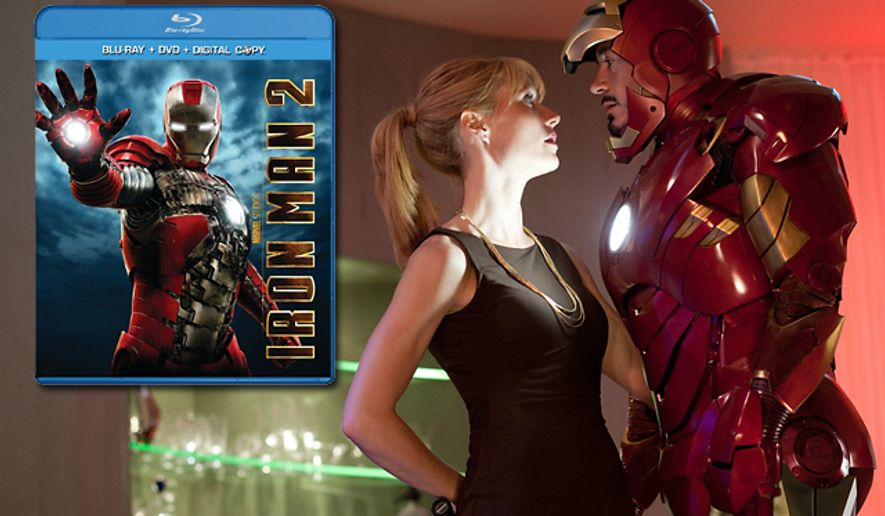 Paramount Home Entertainment's Iron Man 2 is Blu-ray optimized.