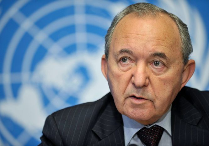 South African Judge Richard Goldstone's U.N. report on the Gaza conflict drew widespread criticism from the U.S. Jewish community. (Associated Press)
