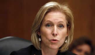 Sen. Kirsten E. Gillibrand, New York Democrat (Associated Press) ** FILE **
