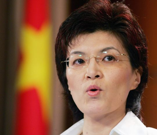 Chinese Foreign Ministry spokeswoman Jiang Yu (Associated Press)