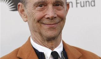 "FILE - In this May 1, 2010 file photo, actor Joel Grey arrives at ""A Fine Romance"" benefiting the Motion Picture & Television Fund in Los Angeles. (AP Photo/Dan Steinberg, file)"