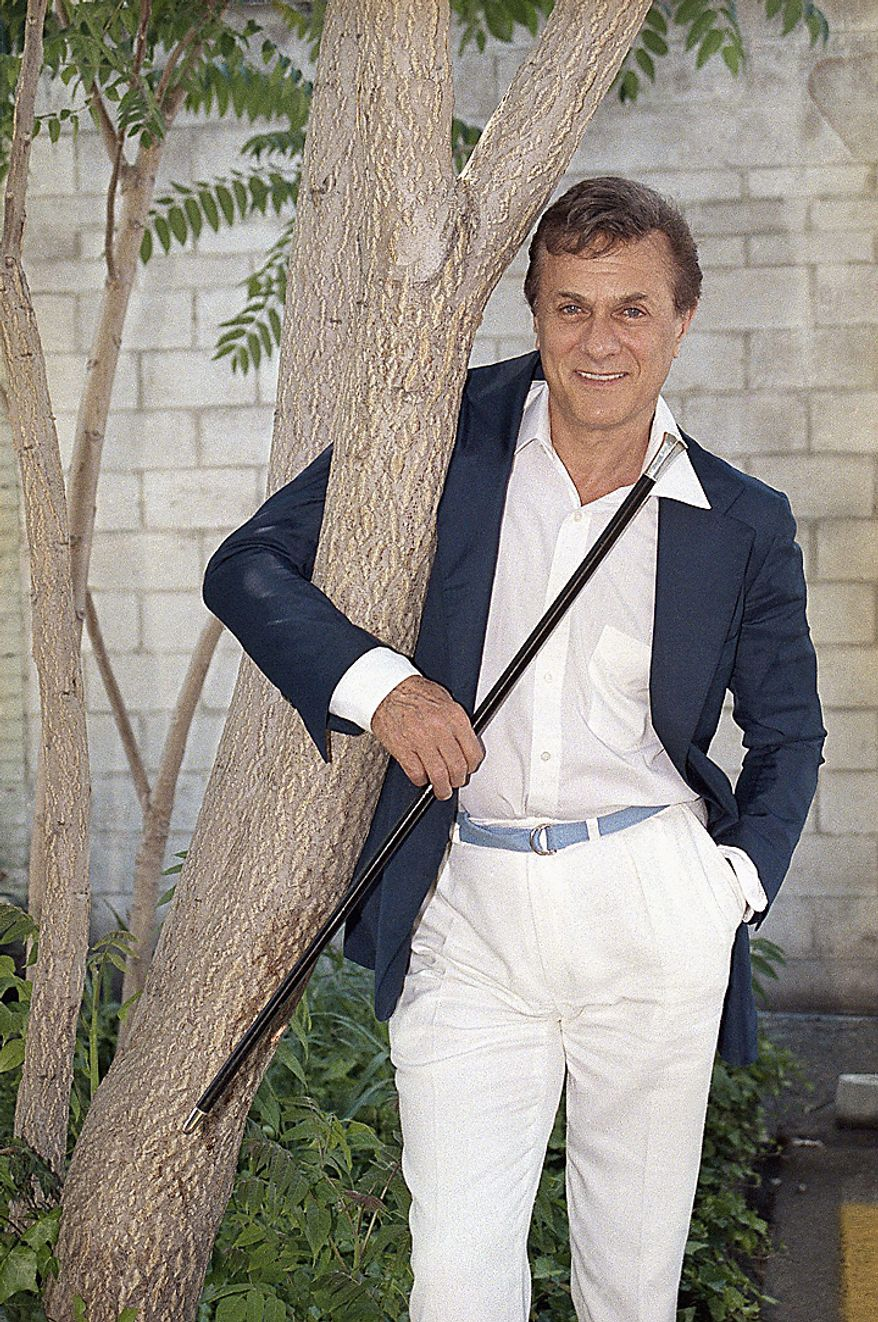 Veteran actor Tony Curtis, is seen in Los Angeles in this June 10, 1985 file photo. Curtis died Wednesday Sept. 29, 2010 at his Las Vegas area home of a cardiac arrest at 85 according to the Clark County, Nev. coroner. (AP Photo/Wally Fong)