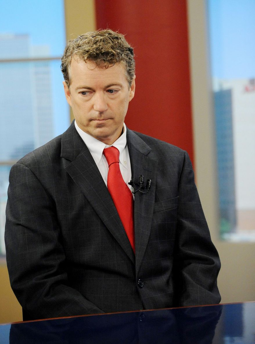Associated Press A poll last week had U.S. Senate candidate Rand Paul, Kentucky Republican, ahead of his Democratic rival by 11 points.