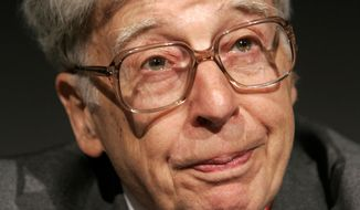 ** FILE ** Robert Edwards of Great Britain has won the 2010 Nobel Prize in physiology or medicine. (AP Photo/Matt Dunham)