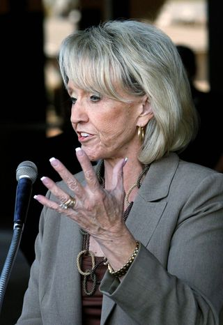 ASSOCIATED PRESS Arizona Gov. Jan Brewer has already taken part in one debate, qualifying her for public campaign funds.