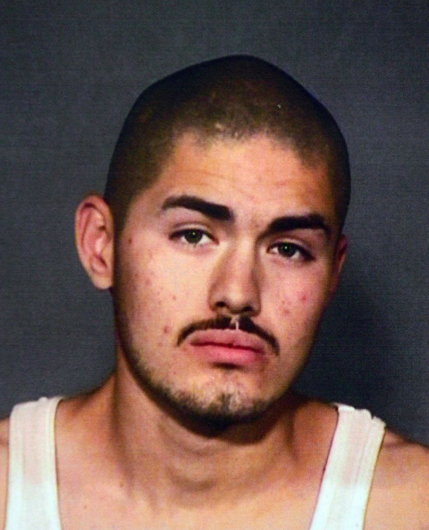 This is a Tuesday, Oct. 5, 2010, booking photo of abduction suspect Gregorio Gonzalez, 24, of Fresno, Calif. An 8-year-old girl who was abducted while playing outside a Fresno home escaped from her captor Tuesday morning after a driver cut off the suspect's vehicle, police said. (AP Photo/Fresno Police handout)