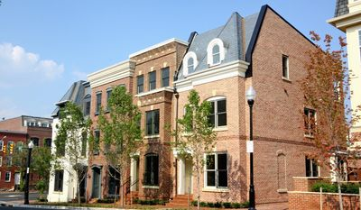 Van Metre Homes is building 18 town homes at Duke Street Row in Old Town Alexandria. The homes have approximately 1,900 to 2,200 finished square feet, with base prices from $699,990 to $876,585.