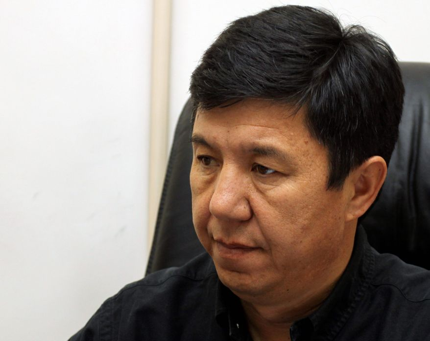 A Kyrgyz political party leader, Temir Sariyev, says the incoming coalition government likely will sharply raise the rent for a U.S. air base. (Associated Press)