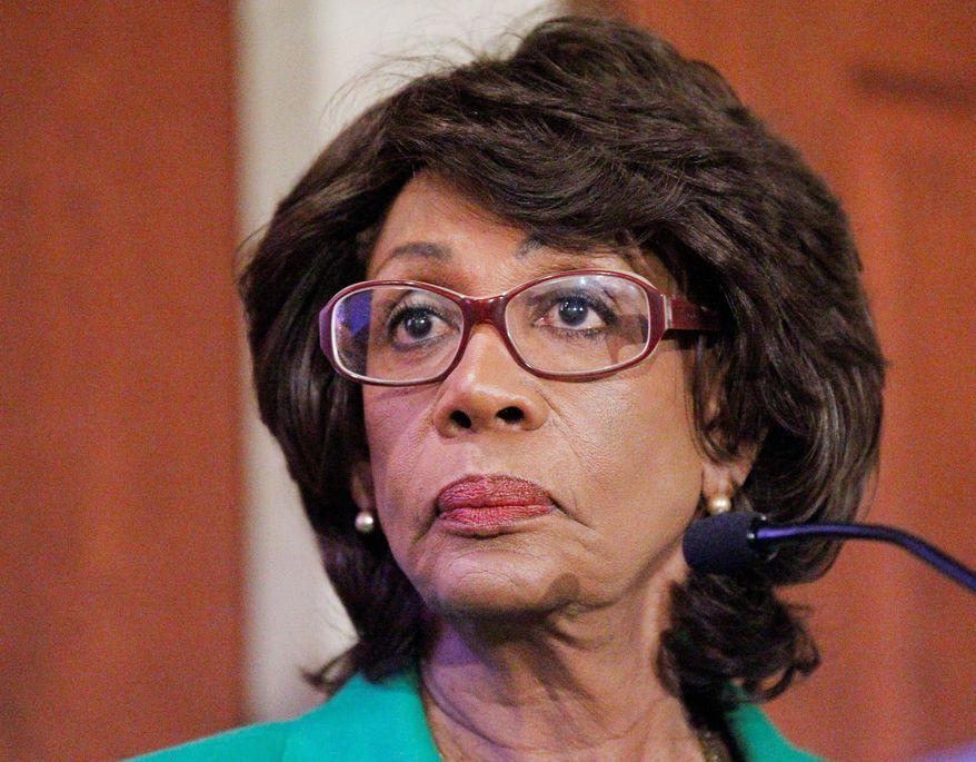 **FILE** Rep. Maxine Waters, California Democrat (Associated Press)