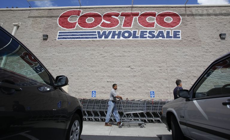 ** FILE ** Customers arrive at a Costco store in Mountain View, Calif., on Sept. 8, 2010. (AP Photo/Paul Sakuma)