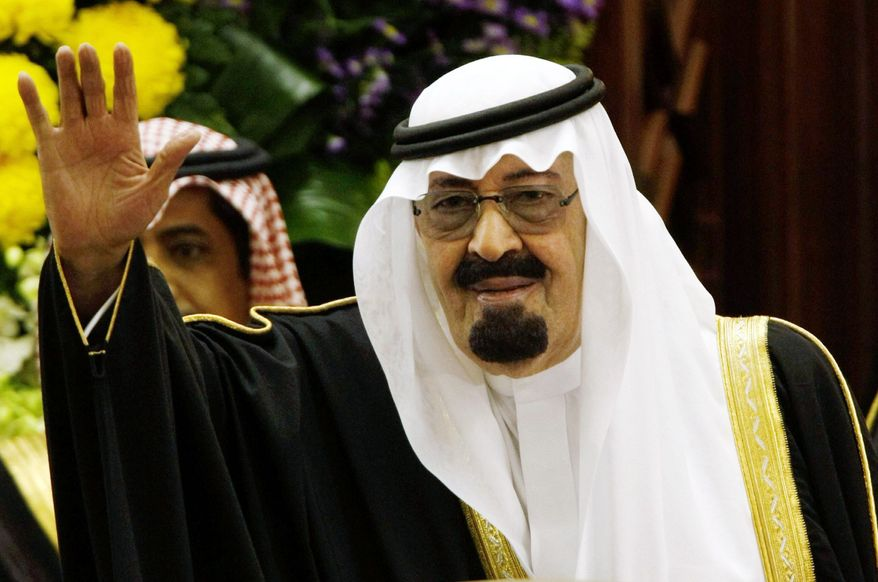 King Abdullah of Saudi Arabia, seen in March 2009, has moved to regain control over fatwas, which were proliferating from many sources before he limited them to an official council. (Associated Press)
