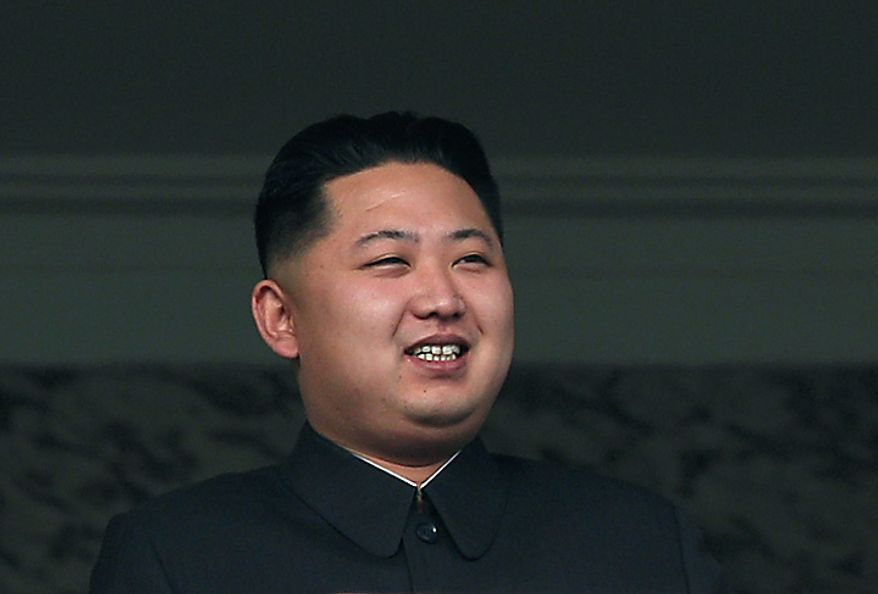 North Korea leader Kim Jong Il's son Kim Jong Un attends a massive military parade marking the 65th anniversary of the communist nation's ruling Workers' Party in Pyongyang, North Korea on Sunday, Oct. 10, 2010.  (AP Photo/Vincent Yu)