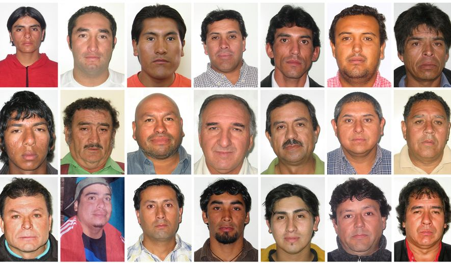 copiapo men Deep down dark: the untold stories of 33 men buried in a chilean mine, and  the  review notable book when the san josé mine collapsed outside of  copiapó.