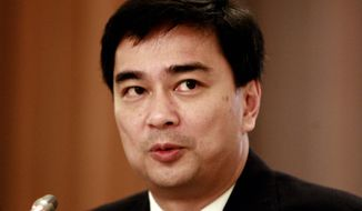 **FILE** Thailand Prime Minister Abhisit Vejjajiva (Associated Press)