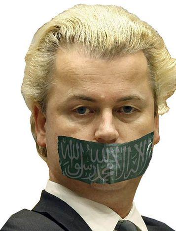 Illustration: Geert Wilders