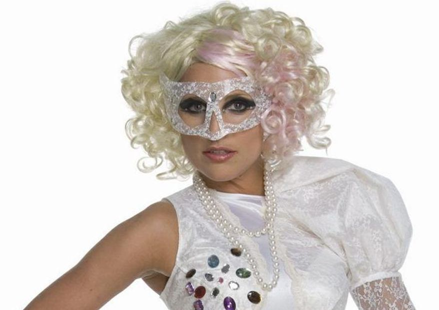 While classic costumes are still top sellers at Halloween, this year pop culture costumes like Lady Gaga are on the rise. (Associated Press)