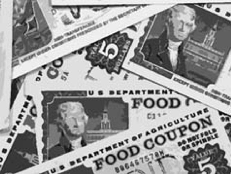 Food stamps (illustration)