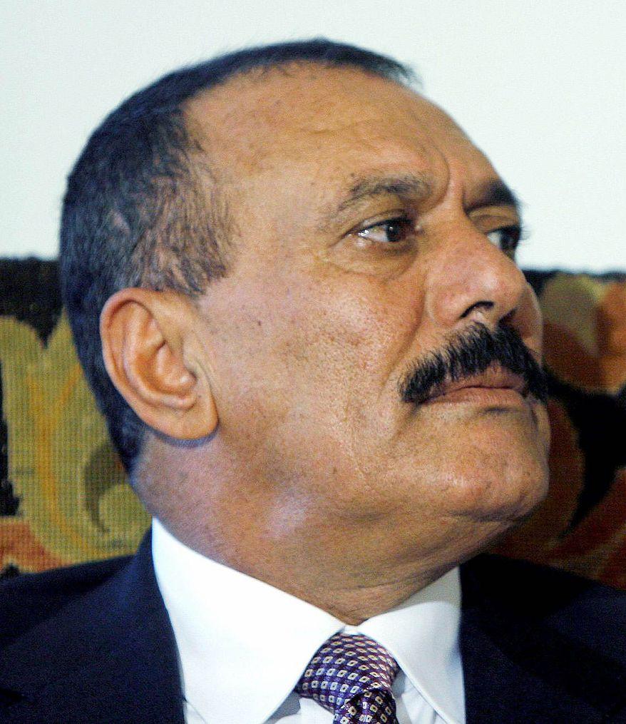 Yemeni President Ali Abdullah Saleh is waging a quiet war against al Qaeda in Yemen. (Associated Press)