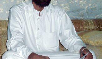 U.S.-born radical Islamic cleric Anwar al-Awlaki in Yemen is on a U.S. list of militants to kill or capture. (Associated Press)