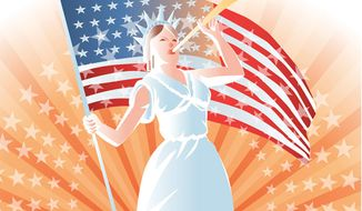 Illustration: Awakening by Linas Garsys for The Washington Times