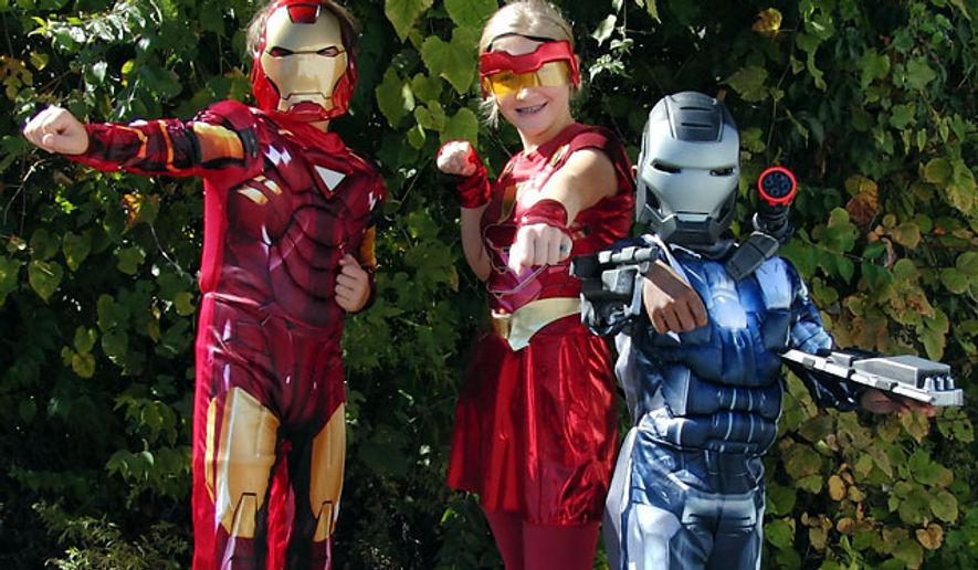 Disguise's costume line-up includes Iron Man 2 Mark VI Light up Deluxe, Ironette Tween and War Machine Classic Muscle with Shoulder Canon and Rocket Gauntlets.