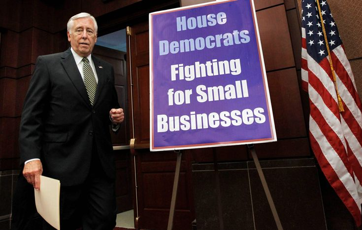 """House Majority Leader Steny H. Hoyer denies he told his Republican challenger, """"I'm coming after you."""""""