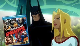 Warner Home Video's Superman/Batman: Apocalypse is on Blu-ray.