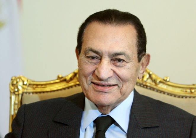 Egyptian President Hosni Mubarak has stayed publicly silent on his intentions to run. (Associated Press)