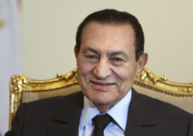 **FILE** Former Egyptian President Hosni Mubarak (Associated Press)