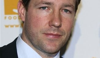 "FILE - In this April 23, 2007 file photo, actor Ed Burns arrives to the Food Bank for New York City's fifth annual Can-Do dinner awards held at Pier Sixty in New York. Burns revisits his indie roots _ with a modern twist _ in his latest project, ""Nice Guy Johnny."" (AP Photo/Adam Rountree, file)"