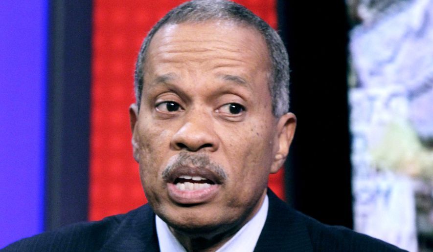 "Juan Williams appearing on the ""Fox & Friends"" television program in 2010. (AP Photo/Richard Drew) ** FILE **"