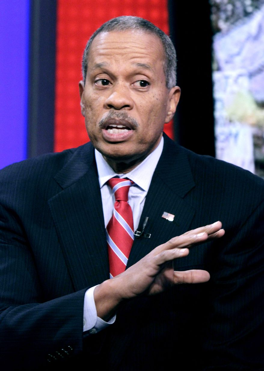 """Juan Williams appearing on the """"Fox & Friends"""" television program in 2010. (AP Photo/Richard Drew)"""