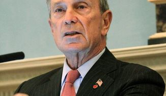 New York Mayor Michael R. Bloomberg, serving his third term, says he favors a return to the city's two-term limit, which is on the for ballot next week. (Associated Press)